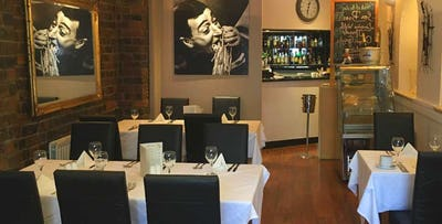 £18 for Pizza or Pasta Main with Glass of Wine for 2
