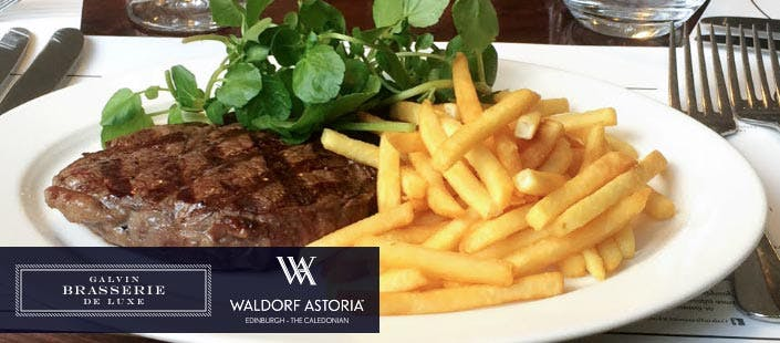 £29 for Steak Frites + Glass of Wine for 2