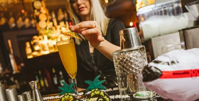 Drinks + Nibbles for 2 or 4, from £15