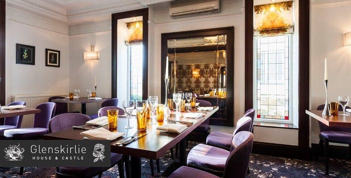 £39.99 for a 4 Course Champagne Lunch or Dinner with Coffee for 2