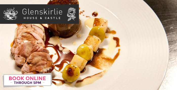 £39.99 for a 4 Course Lunch or Dinner with Fizz Cocktail + Coffee for 2