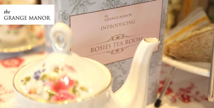Choice of Afternoon Tea or High Tea for 2, from £15