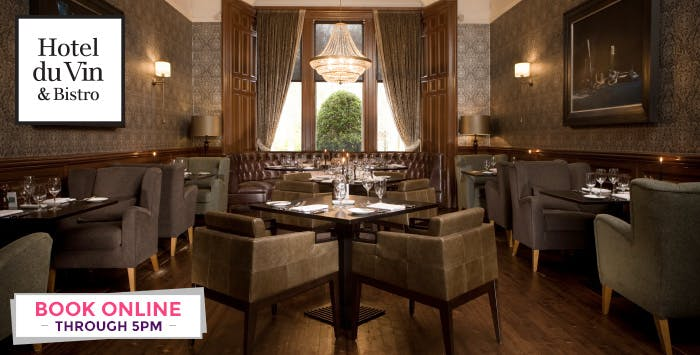 £49 for a 4 Course Champagne Lunch for 2