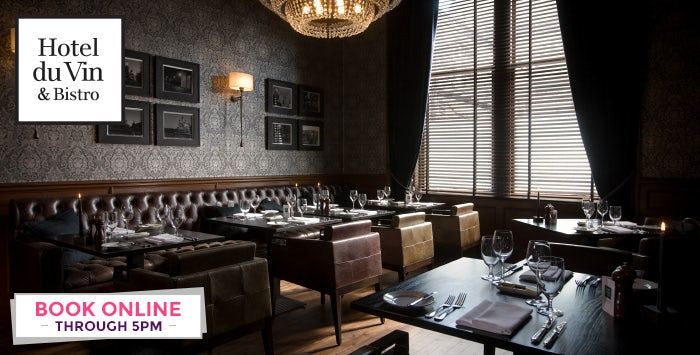 2 or 4 Course Champagne Lunch for 2, from £39