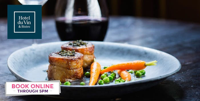 £32 for a 3 Course Champagne Lunch for 2