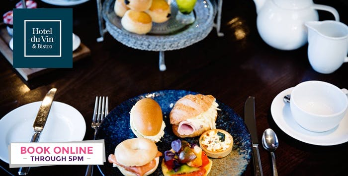 £29 for Afternoon Tea with Prosecco for 2