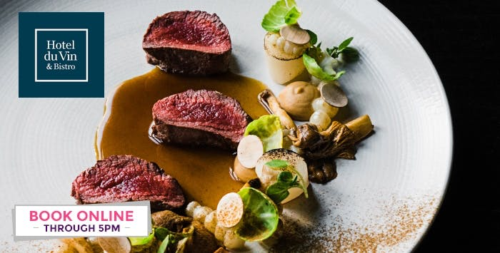 2 or 3 Course Meal with Champagne for 2, from £29