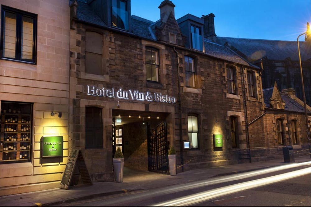 Hotel Du Vin Edinburgh Edinburgh Restaurant Bookings Offers