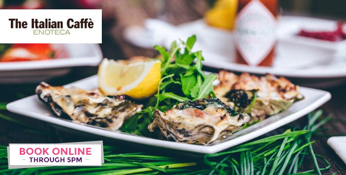 £18 for 4 Small Plates + Wine or Prosecco for 2