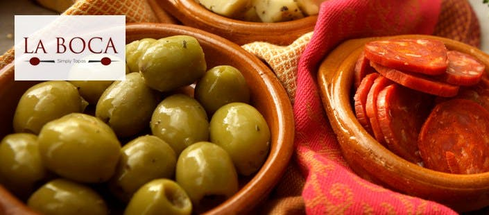 £16 for 5 Tapas Dishes + Bread & Olives to Share for 2