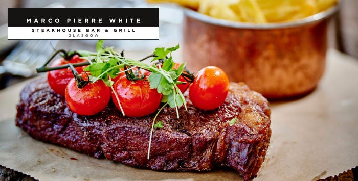 Main Course or Steak with Prosecco for 2; from £20