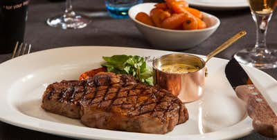 £29 for Steak Frites + Wine for 2