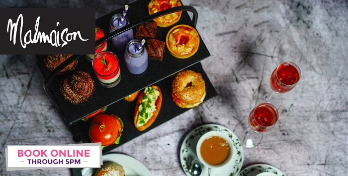 £32 for Afternoon Tea + Champagne Cocktail for 2
