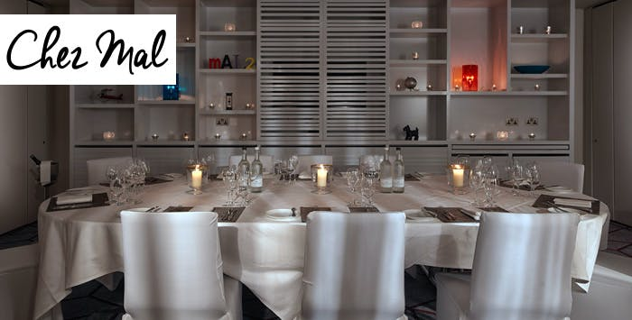 £189 for a Private Dining Experience for 8 People