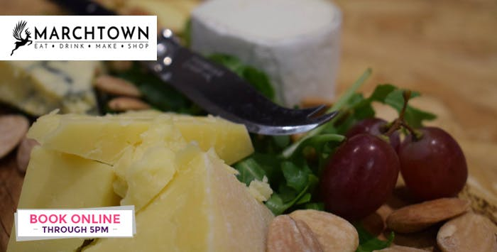 £29 for a Cheeseboard + Bottle of Wine or Fizz for 2
