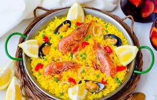 Paella + Sangria for 2
