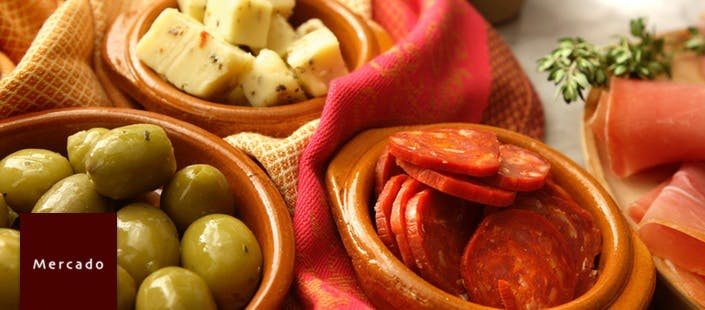 £25.50 for 6 Tapas + Bottle of Wine to Share for 2