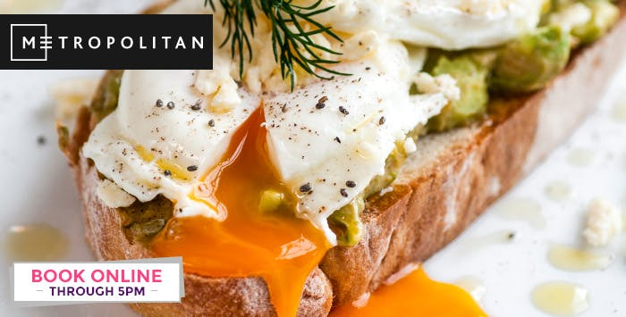 £14 for Sunday Brunch with Prosecco for 2