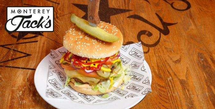 Burger & Gin Slushie for 2 - 5pm co uk
