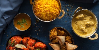 £21 for a 2 Course Indian Meal for 2
