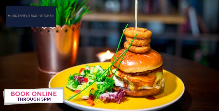 £15 for a Burger + Drink for 2