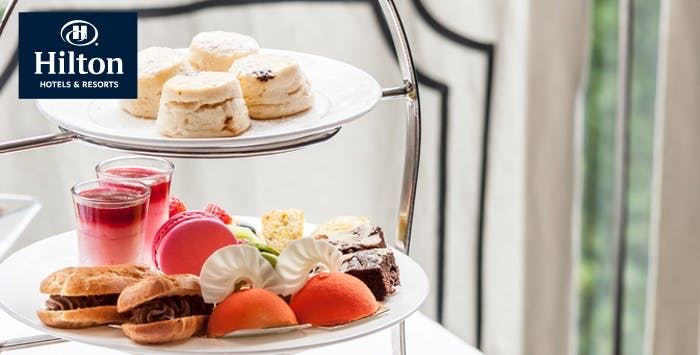 Afternoon Tea + G&T or Champagne for 2