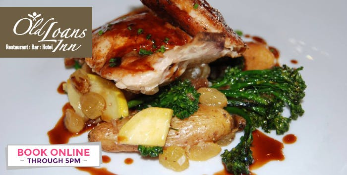 £19 for a 2 Course Meal + Glass of Prosecco for 2