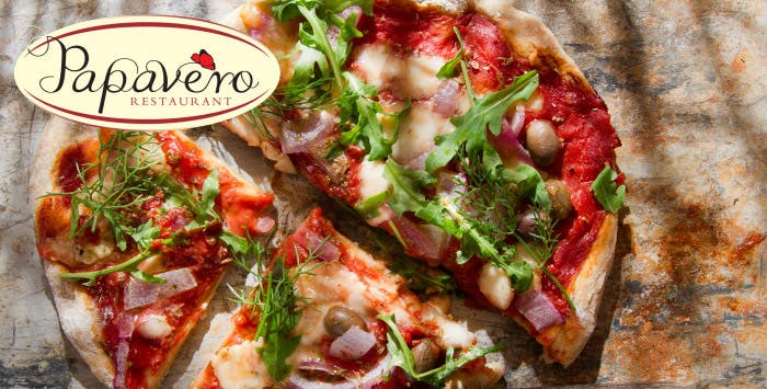 £17 for Any Pizza, Pasta or Risotto + Wine for 2
