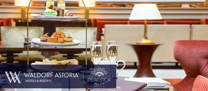 Afternoon Tea in Waldorf Astoria Edinburgh - The Caledonian, from £20
