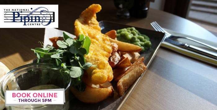 £27 for a Beer-battered Haddock Supper + Bottle of Prosecco for 2
