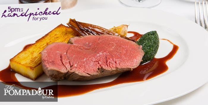 £125 for a 5 Course Tasting Menu with Paired Wines for 2