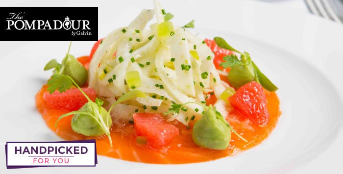 £125 for a 5 Course Menu Discovery + Wine Pairings for 2