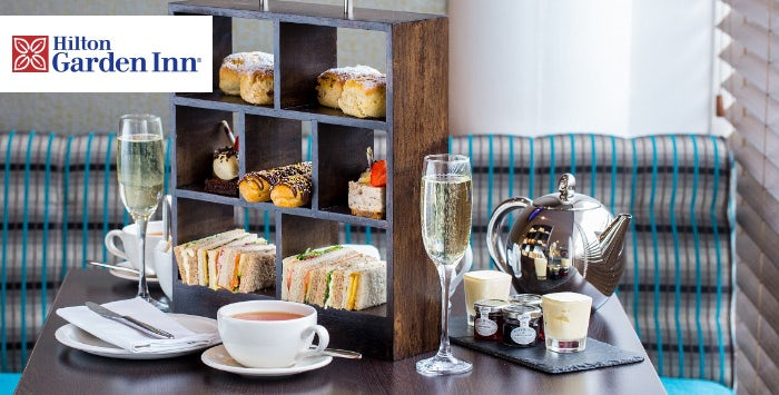 £19 for Afternoon Tea & Fizz for 2