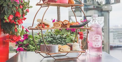 £35 for Afternoon Tea with Eden Mill Gin & Tonic for 2