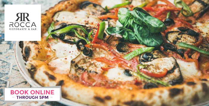 £20 for a Pizza or Pasta + Glass of Prosecco for 2