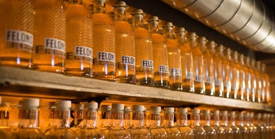 £25 for a Felons Gin Experience including Arrival G&T, Gin Tour, Tasters, Gin Flight & Canapes