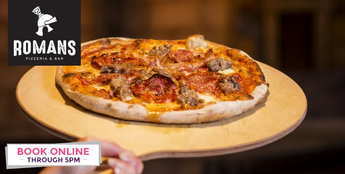 £25 for Pizzas + Bottle of Prosecco for 2