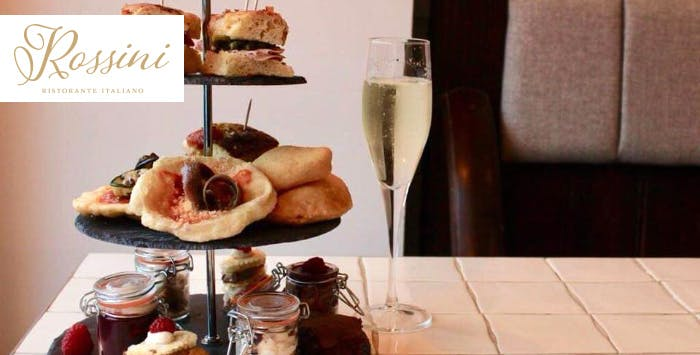 £22 for Italian Afternoon Tea with Prosecco for 2