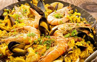 Paella or Tapas + Wine