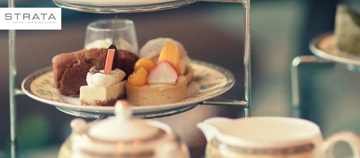 £15.95 for Afternoon Tea for 2