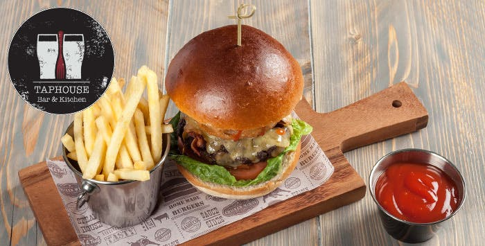£14 for Gourmet Burgers + Beer for 2