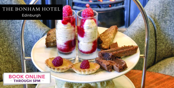 Afternoon Tea with Gin Fizz Cocktail for up to 4, from £24