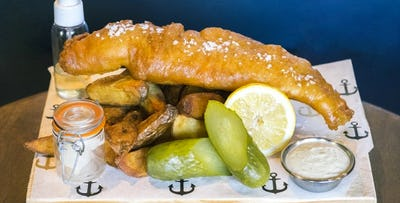 Fish & Chips + Prosecco for 2, from £29