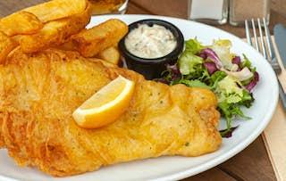 Burger or Fish & Chips