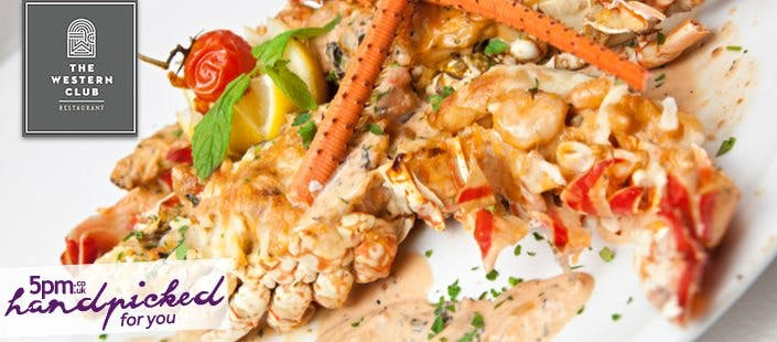£49 for Lobster Thermidor to share, 3 Sides + Fizz for 2