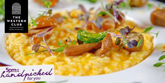 £49 for a 4 Course Fine Dining Meal + Glass of Fizz for 2