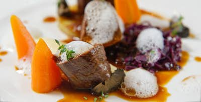 £45 for a 3 Course Fine Dining Meal + Glass of Fizz for 2