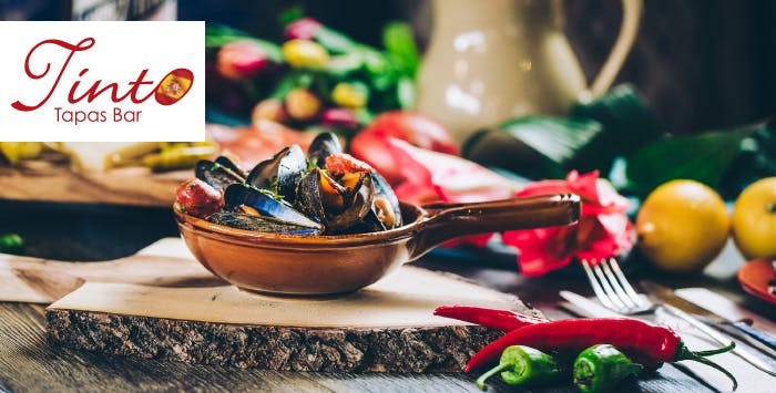 £29 for 6 Tapas + Bottle of Wine to Share for 2