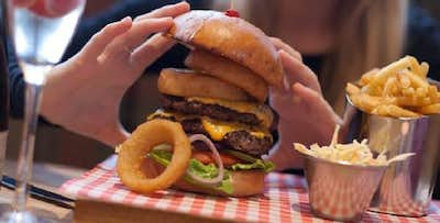 £11.95 for a Burger, Hot Dog or Mains for 2