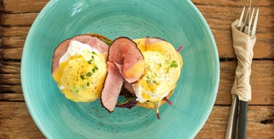 £16 for a Brunch Dish + Glass of Prosecco Each for 2